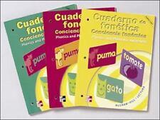 Cuaderno de Fonetica/Conciencia Fonemica: Phonics and Phonemic Awareness