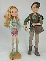 Ever After High ASHLYN ELLA and HUNTER HUNTSMAN EAH Couple Dolls - Mattel