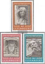 Luxemburg 1277-1279 (kompl.Ausg.) gestempelt 1991 Architektur