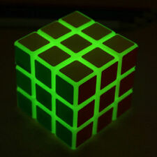 YJ Luminous Cube Speed Puzzle Game 3x3 Glow in dark Magic Cube Puzzle Twist Toy