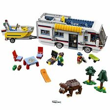 LEGO Creator Vacation Getaway 3-in-1 Camper, Summer Home, and Yacht   31052