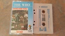 The Who Who Are you Cassette rare Excellent Cond Daltry Townsend