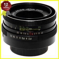 Obiettivo Carl Zeiss Jena Tessar 50mm f2,8 per fotocamere innesto a vite M42