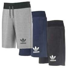 Adidas Originals Mens Fleece Shorts 3 Stripe Gym Running Training Sports Short