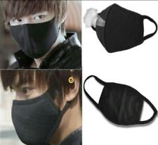 2 X Black Unisex Health Cycling Anti-Dust Cotton Mouth Face Respirator Mask New