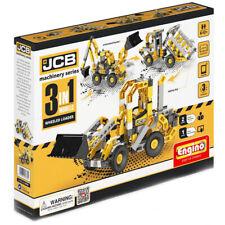 Engino JCB Wheeled Loader 3 in 1 Models Construction Set