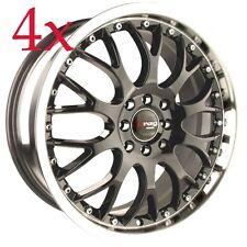Drag Wheels DR19 16x7 5x100 5x114 Gunmetal Rim For Celica Cavalier Pruis Impreza