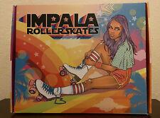 Impala - Quad Roller Skates | Vegan - Womens | Pink / Yellow - Size: 8