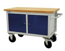 ADB Tischwagen   Werkstattwagen   Rollende Werkbank Mobil 2 x abschließbare Tür