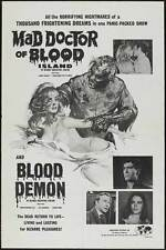 MAD DOCTOR OF BLOOD ISLAND Movie POSTER 11x17 B