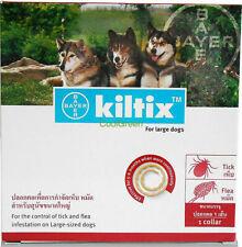 Kiltix Dog Collar 70cm size L Ticks Fleas necklace 5-6 months control Bayer