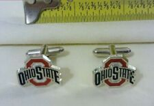 Ohio State Cuff Links Buckeyes Cufflinks College Team Jewelry OU