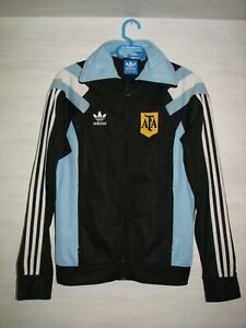 ARGENTINA 2013 TRACK TOP JERSEY ADIDAS SOCCER SIZE S