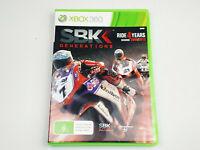Mint Disc Xbox 360 SBK Generations Free Postage