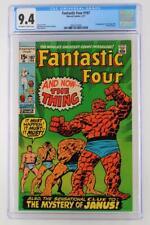 Fantastic Four #107 -NEAR MINT- CGC 9.4 NM - Marvel 1971 - 1st App Nega-Man!