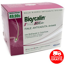 Bioscalin Tricoage 45+ 10 Fiale Anticaduta - Trattamento 1 Mese