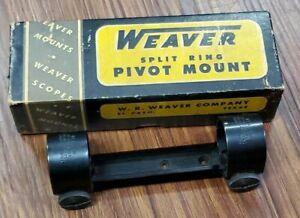 "Vintage Weaver-Pivot Scope Mount 1"" Rings"