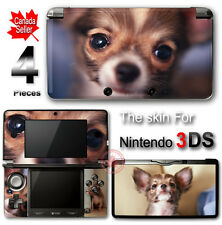 Dog Chiwawa Cute Pet SKIN VINYL STICKER DECAL COVER for Nintendo 3DS