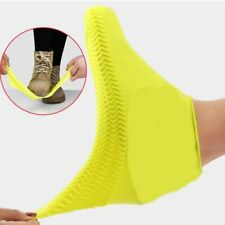 Classic Silicone Shoe Reusable Waterproof Rain Boot Covers Non-slip Thickened