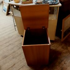 More details for stag cantata retro teak laundry blanket box 1970s/80s 25 inch