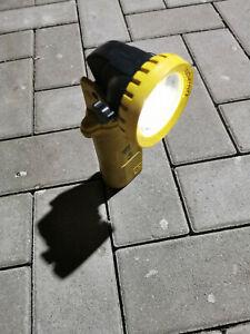 Adalit L2000-L Leuchte Handscheinwerfer Lampe Feuerwehr Handleuchte guter Zustan