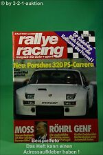 Rallye Racing 4/80 Porsche 924 Carrera Ludwig Capri + Poster
