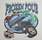 Vintage+Frozen+Four+2001+NCAA+Fighting+Sioux+Boston+College+Shirt+Fits+3XL+READ