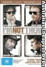 I'm Not There DVD NEW, FREE POSTAGE WITHIN AUSTRALIA REGION 4