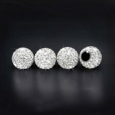 4x Diamond Shining Car Tire Valve Caps Rhinestone Dustproof Car Tyre Stem Cover