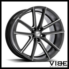 "19"" SPORZA V5 MACHINED CONCAVE WHEELS RIMS FITS INFINITI G35 COUPE"