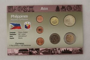 PHILIPPINES COIN SET WITH COA B38 #32