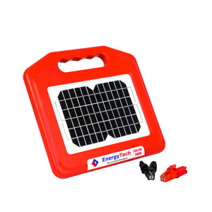 Premium 7KM Electric Fence Energiser SOLAR & BATTERY For Home or Farm