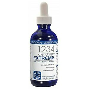 Creative Bioscience 1234 Diet Drops Extreme, Weight Loss Appetite Suppressant