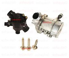 BMW 128i Z4 528i Pierburg Electric Engine Water Pump & Thermostat & 3-Bolt kit
