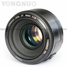 In Stock Yongnuo 50mm F/1.8 1:1.8 Fixed Prime Lens for Canon Rebel DSLR Camera