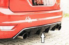 Heckeinsatz Schwarz Glanz für Ford Focus ST MK2 Facelift 00088118  RIEGER-Tuning