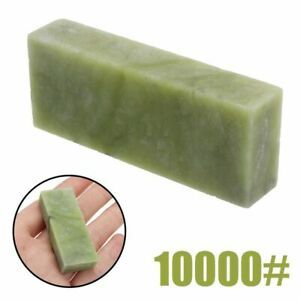 Natural Knife Sharpening Stones Indoor Household Kitchen Minimal Green Accessory
