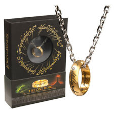 More details for lord of the rings the one ring stainless steel ring by noble collection nn1588