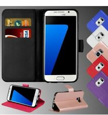 NEW FLIP WALLET PU LEATHER  CASE COVER FOR SAMSUNG GALAXY S6 S7EDGE S8 A3 A5 J5