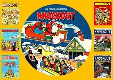 Knockout UK Comics & Annuals On DVD Rom