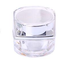 Cosmetic Empty Jar Pot Eyeshadow Makeup Face Cream Lip Balm Container Travel Box