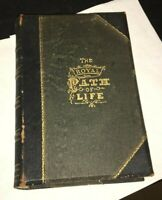 Royal Path of Life Aids to Success & Happiness TL Haines 1881 Fine Binding
