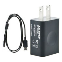 USB AC/DC Power Adapter Battery Charger + PC Cord For Nikon Coolpix S4300 Camera