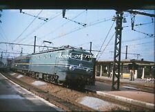 C1525 - Dia slide 35mm original: chemin de fer France, SNCF Loc 7147, 1967