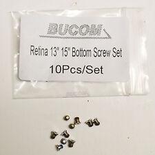 10x f. Apple MacBook Pro Retina A1398 A1425 A1502 Screw Bottom Case Schrauben