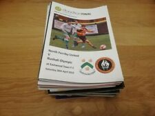 More details for north ferriby utd away programmes x 33