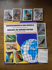 PANINI LIKE EMPTY ALBUM + ALL 248 STICKERS WONDERE WERELD DER VOGELS