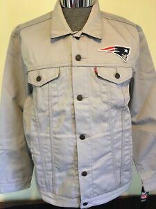 New England Patriots Levi Strauss Jacket-NWT