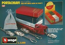 X0074 Portachiavi - BBURAGO - Pubblicità 1992 - Vintage Advertising