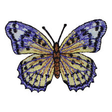 """Butterfly Applique Patch - Insect, Antennae, Wings 2-5/8"""" (Iron on)"""